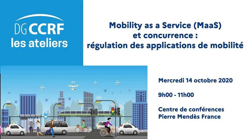 Mobility as a Service (MaaS) et concurrence : régulation des applications de mobilité