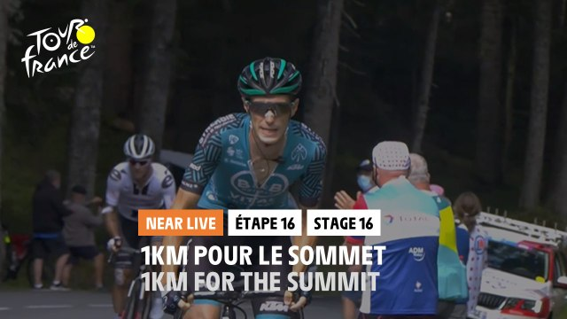 #TDF2020 - Étape 16 / Stage 16 - 1km pour le sommet / 1km for the summit