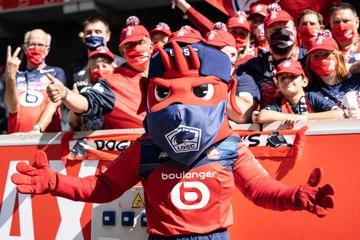 LOSC Experience : la victoire face à Metz dans la peau d'une mascotte !
