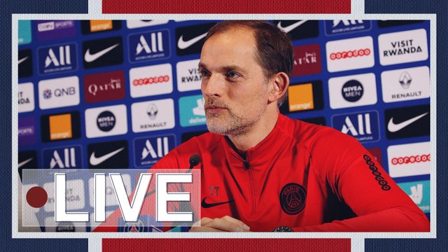 Replay : Conférence de Presse de Thomas Tuchel avant Paris Saint-Germain v FC Metz