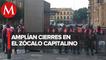 Cierran acceso a Zócalo de CdMx por Grito de Independencia