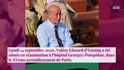 Valéry Giscard d'Estaing hospitalisé : son entourage donne de ses nouvelles
