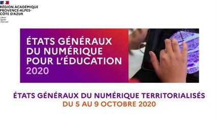 Les Etats Généraux du Numérique Territorialisés : Bernard Beignier, Recteur de la Région académique Provence-Alpes-Côte d'Azur