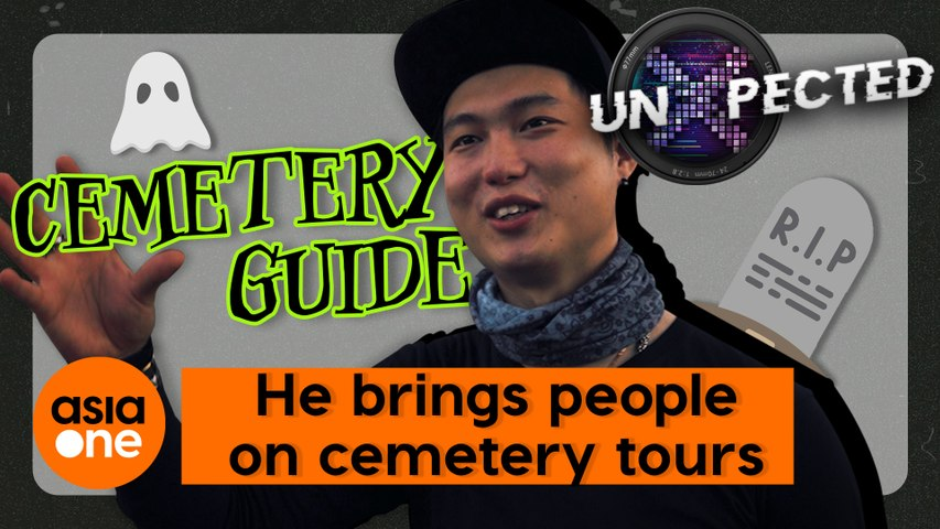UnXpected: He brings people on cemetery tours