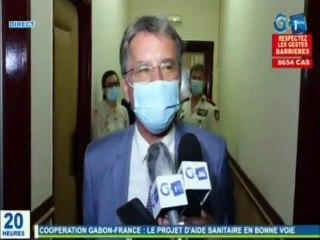 RTG - Le ministre de la santé reçoit en audience l'ambassadeur de France