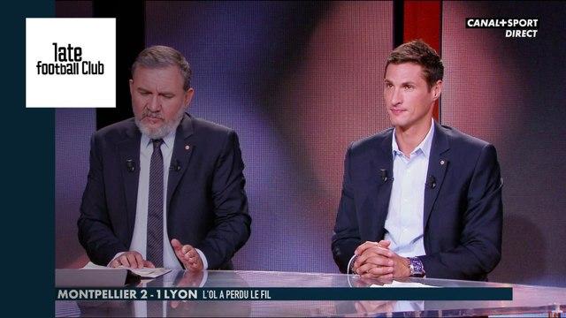 Défaite de Lyon face à Montpellier