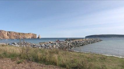 Le quai de Percé complété le 21 septembre