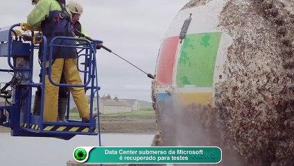 Data Center submerso da Microsoft é recuperado para testes