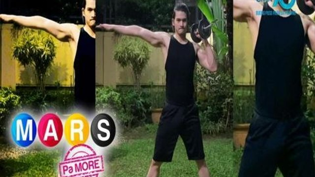 Mars Pa More: Light dumbell workout routine with Gil Cuerva   Push Mo Mars