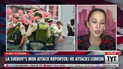 LA Police Brutally Attack and Arrest Female Journalist