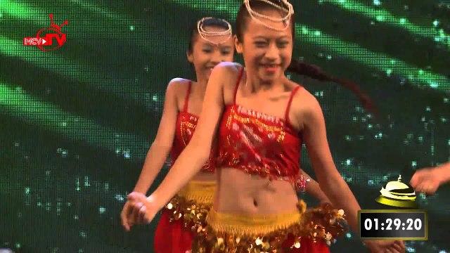 Nhóm Thiên Thần Nhỏ-Múa Vũ điệu Phương Đông|Bạn có thực tài|Mùa 1| Tập 04