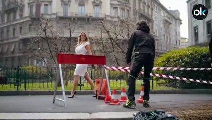 Diletta Leotta revoluciona Italia anunciando en paños menores... ¡ropa de trabajo!