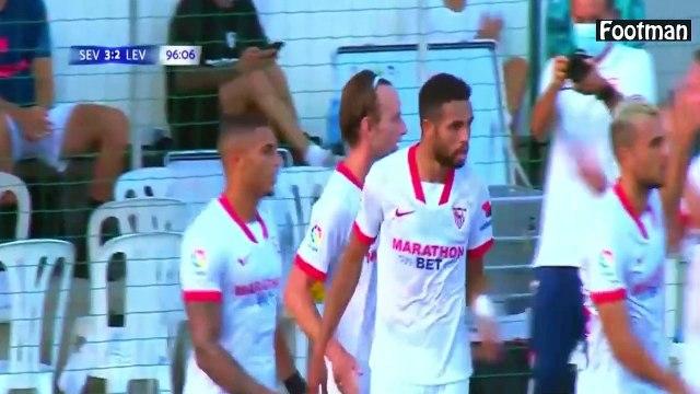 Le premier but d'Ivan Rakitic depuis son retour au Séville FC