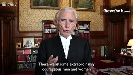 A message from the Lord Speaker on VJ Day 75 - House of Lords