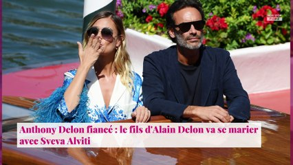 Anthony Delon fiancé : le fils d'Alain Delon va se marier avec Sveva Alviti