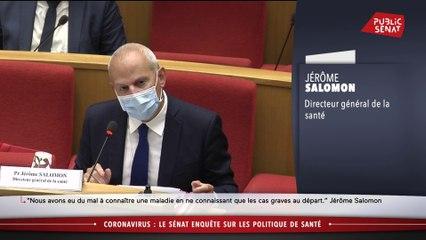Port du masque : Jérôme Salomon, directeur général de la santé, reconnaît « une expression très maladroite » en mars