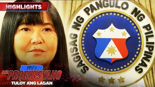 Lily plans to run for president in the next election | FPJ's Ang Probinsyano