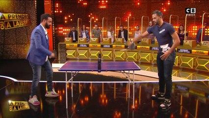 """Benjamin """"Le sportif"""" affronte Cyril Hanouna au ping-pong avec un pari rassrah à la clé !"""