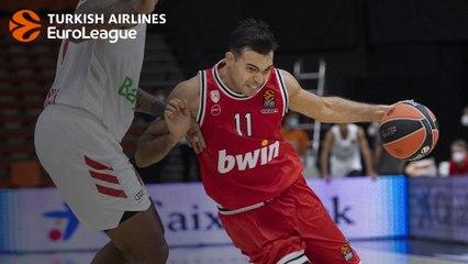 Olympiacos-Bayern MVP: Kostas Sloukas, Olympiacos