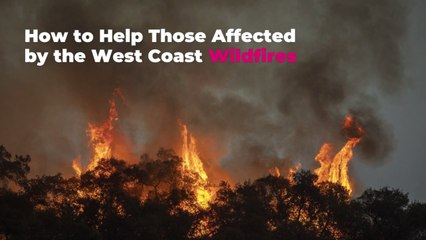 How to Help Those Affected by the West Coast Wildfires
