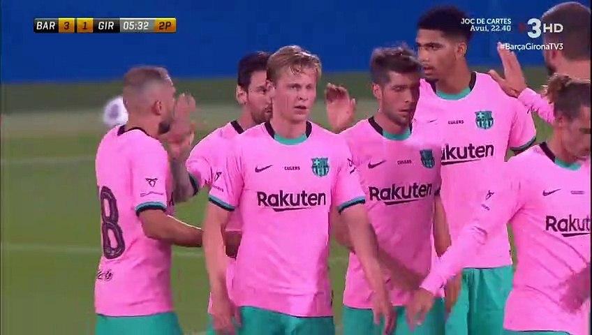 Messi Goal - Barcelona 3-1 Girona (Full Replay)