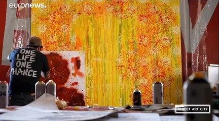 Street Art City réussit le pari d'emmener les artistes à la campagne en Auvergne
