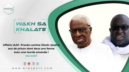 Affaire IAAF- Procès Lamine Diack: Quatre ans de prison dont deux ans ferme avec une lourde amende ! Vos avis ?