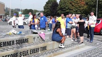 Moving tributes paid to Leeds United fan Steve Denney (Video: Natasha Gooding)