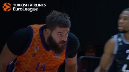 ASVEL-Valencia MVP: Bojan Dubljevic, Valencia