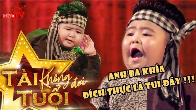 Màn trình diễn Anh Ba Khía VÔ CÙNG ĐÁNG YÊU của thần đồng TIN TIN  | BCTT Mùa 3Tập 2