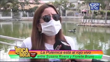 Continúa la polémica: Susana Rivera arremente en contra de Fiorella Bruno