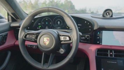 Neuer Porsche Taycan 4S - Interieur Design