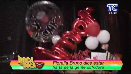 """""""Estoy harta de la gente sufridora"""" Fiorella Bruno no aguantó más y le dejó contundentes mensajes a Susana Rivera"""