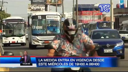 Nuevas restricciones: Dos personas no podrán estar en una moto en Guayaquil
