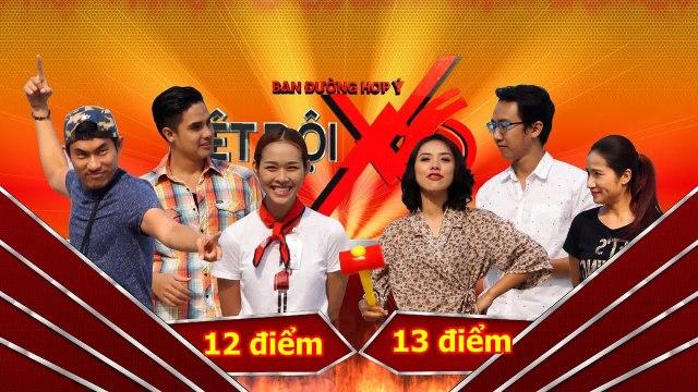 Biệt Đội X6 | Hành trình full 9 | Diệp Bảo Ngọc hoảng sợ khi ăn đuông dừa.