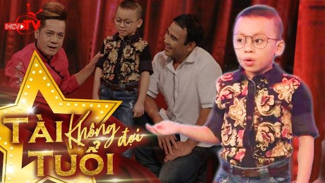 Thánh hài nhí 5 tuổi được mệnh danh bản sao Việt Hương khiến Quyền Linh đứng ngồi không yên!!