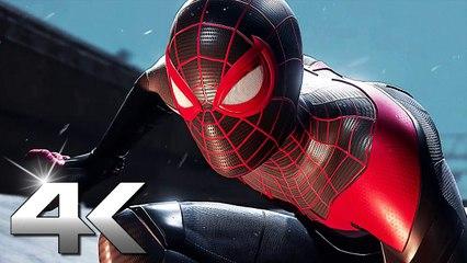 SPIDER-MAN 2 MILES MORALES Bande Annonce 4K