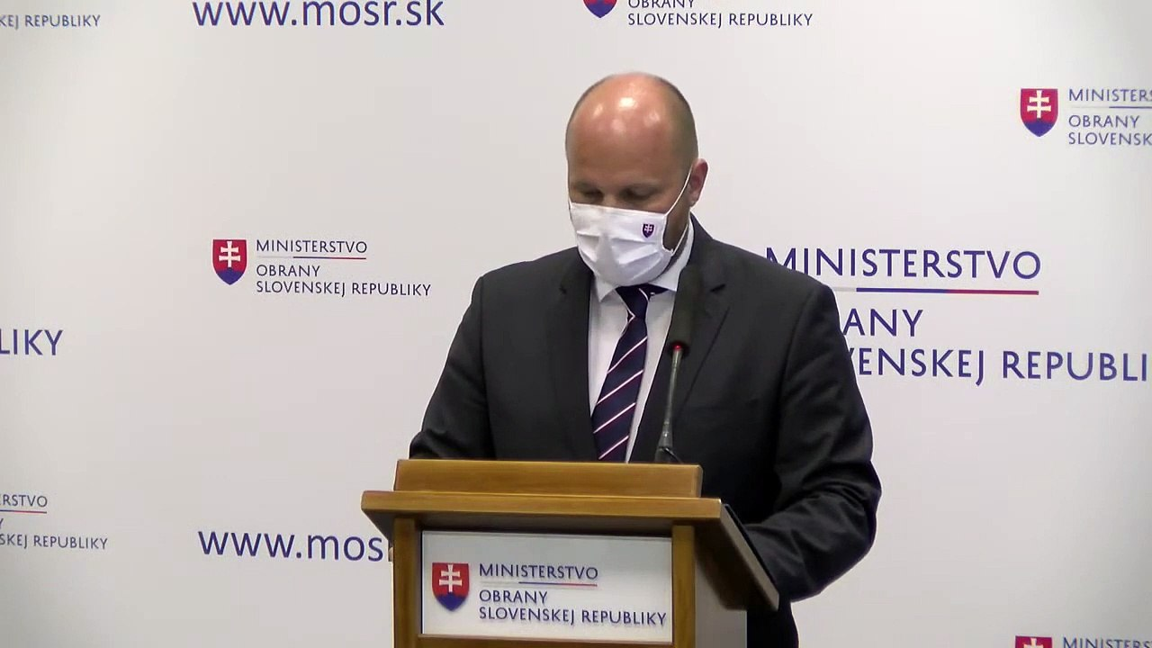 ZÁZNAM: TK ministra obrany J. Naďa