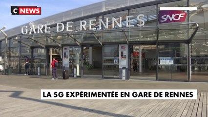La 5G expérimentée en gare de Rennes ?