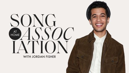 Jordan Fisher Sings Bruno Mars, The Chainsmokers, & Hilary Duff in a Game of Song Association