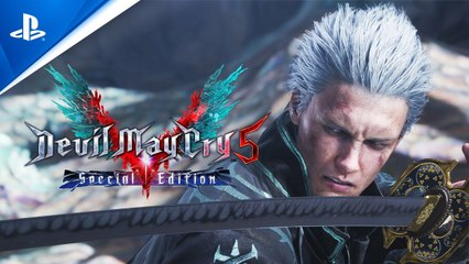 Devil May Cry 5 Special Edition - Trailer d'annonce (PS5)