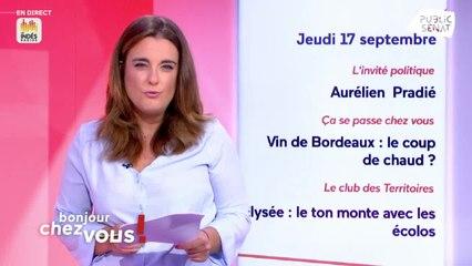 Invité : Aurélien Pradié - Bonjour chez vous ! (17/09/2020)