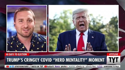"""Trump's Cringey """"Herd Mentality"""" Comment During ABC Town Hall"""