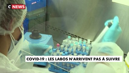 Coronavirus : les laboratoires d'analyse n'arrivent plus à suivre