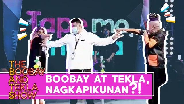 TBATS: BOOBAY AT TEKLA, NAGKAPIKUNAN SA TAPING?!