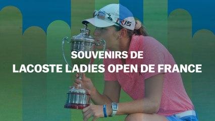 Souvenirs d'Open de France : Céline Herbin