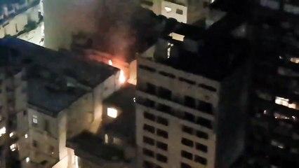 El incendio en el edificio de la calle Maipú en el que vivía Elsa Serrano: su hija confirmó la muerte de la diseñadora
