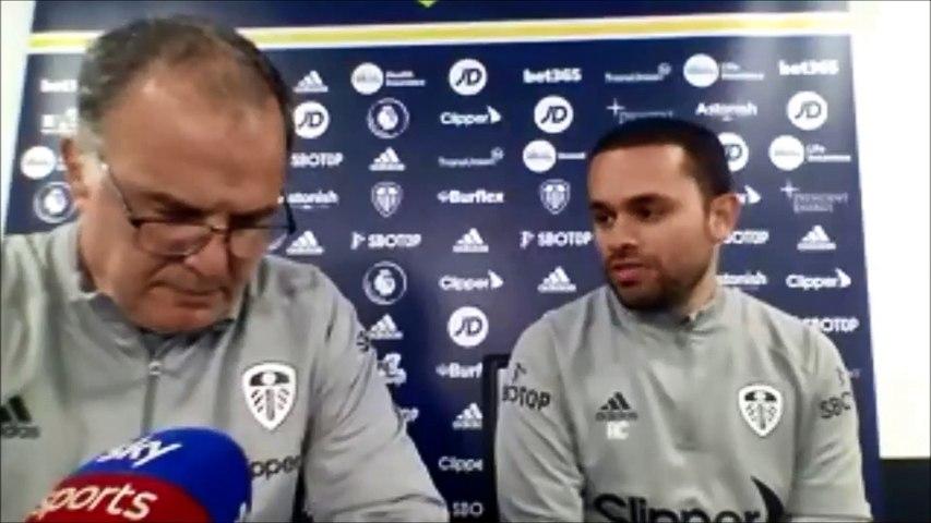 Bielsa on pre Fulham team news