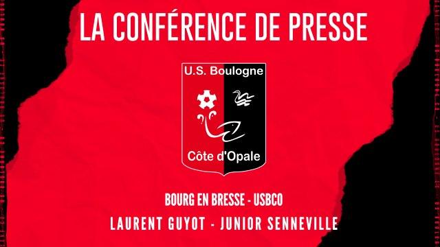 [NATIONAL] J6 Conférence de presse avant match Bourg en Bresse - USBCO