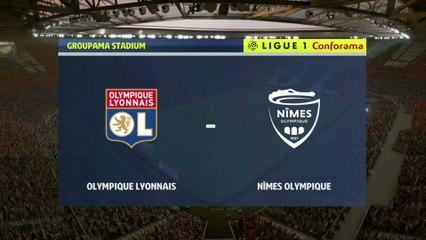 FIFA 20 : notre simulation de OL - Nîmes (L1 - 4e journée)